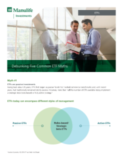 MK3476E - Manulife ETF Debunking Five Common Myths