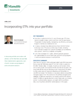 MK3450E - Incorporating ETFs into your portfolio
