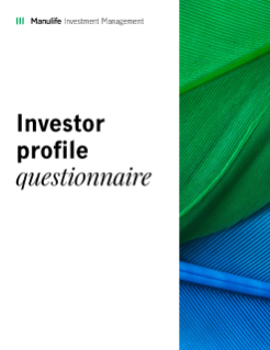 Investor Profile Questionnaire - Mutual funds