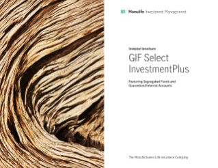 GIF Select InvestmentPlus brochure