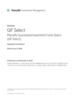 GIF Select Fund Facts