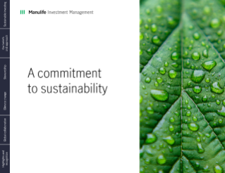 Our commitment to sustainability brochure