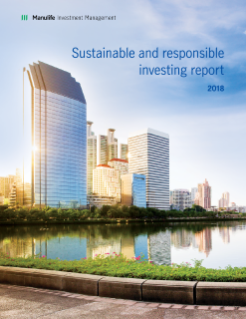 Sustainable and responsible investing report 2018