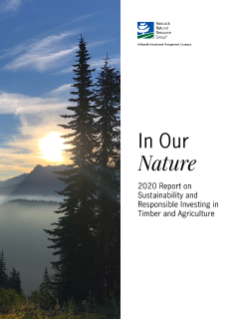 Report on Sustainability and Responsible Investing from Hancock Natural Resource Group, a Manulife Investment Management Company