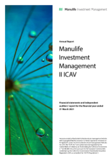 Manulife Investment Management ICAV UCITS annual report